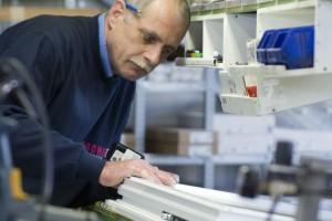 Zeitgemäße Materialien wie Hochleistungs-Kunststoffe und Aluminium sind garantiert langlebig und witterungsbeständig.