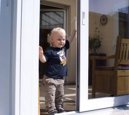 Hebe-Schiebetüren: Kinderleicht. Optimal platzsparend.
